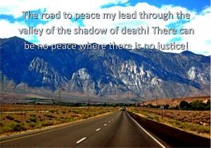 A Man of Peace Has Seen Enough
