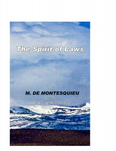 Spirit of laws 1 cover